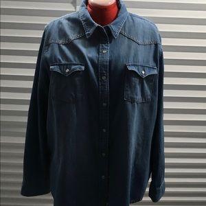 Universal Thread Tops - Denim shirt